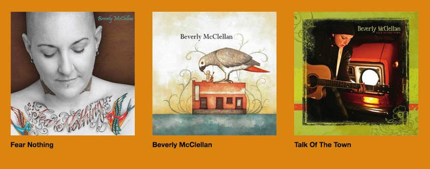 Beverly McClellan Cd's
