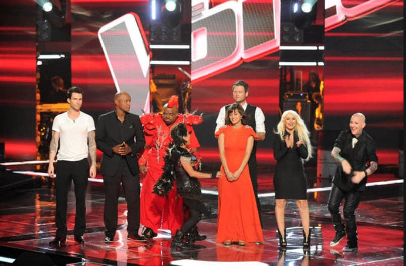 The Voice season 1 coaches and semifinalists